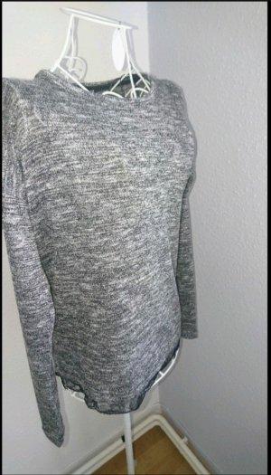 Silberner Pullover von Esprit in Xs
