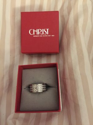 Christ Ring silver-colored