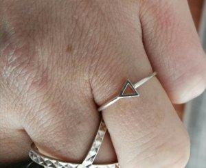 silberner ring.pfeil 1,7cm