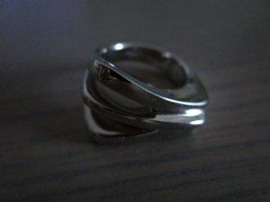 silberner Ring von Fossil