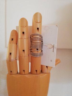 silberner Ring von H&M