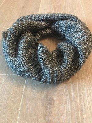 Opus Tube Scarf silver-colored-light grey