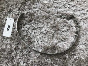 Asos Waist Belt silver-colored