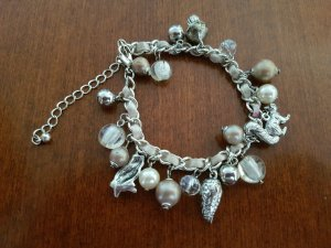 Bracelet silver-colored-taupe