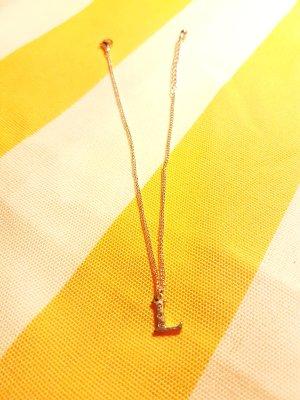 Tobillera color plata-color oro