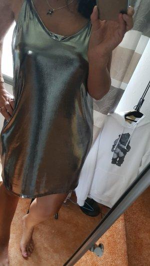 silbernes Hängekleidchen in Gr M Neu silber -metallic
