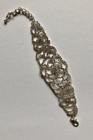 Silbernes Kristallarmband