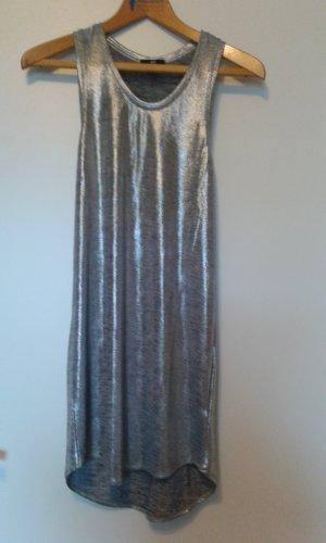 Silbernes Partykleid