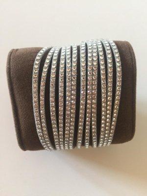 silbernes Swarovski Armband