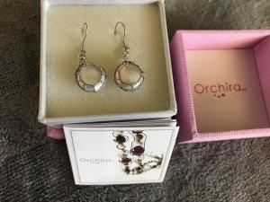 Silberohrringe mit echten Perlen neu originalverpackt der Marke Orchira