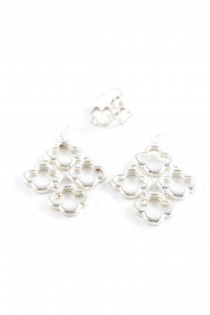 """Silver Earrings """"Set Ohrringe + Ring"""" silver-colored"""