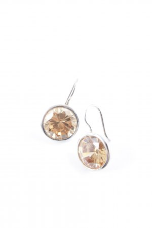 Silver Earrings silver-colored-apricot casual look