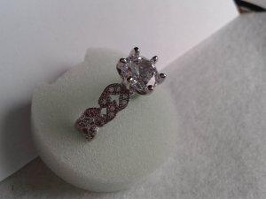 Silver Ring white