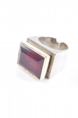 Silver Ring multicolored vintage look