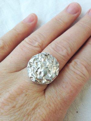 Silberring Ring Statement neu Größe 57