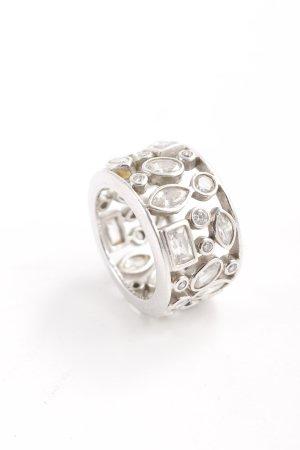 Zilveren ring zilver casual uitstraling