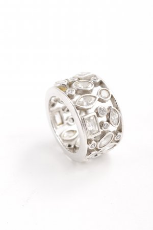 Silver Ring silver-colored casual look