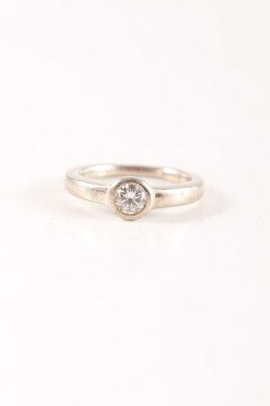 Zilveren ring zilver elegant