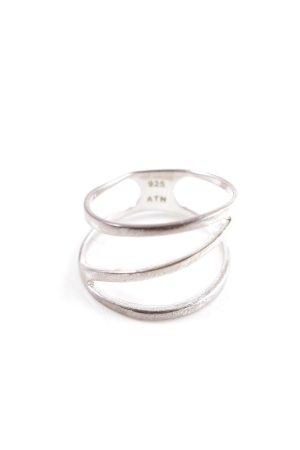 Anello d'argento argento elegante