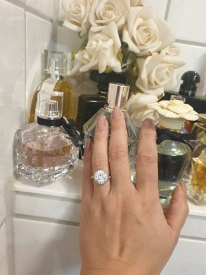 silberring Verlobung Style