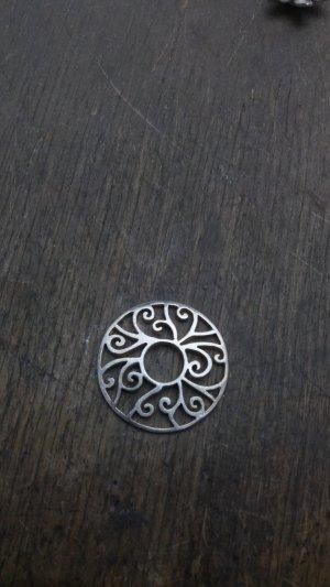 Silberscheibe Ring Ding