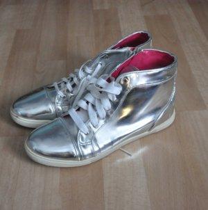 Silbrige Sneakers von Even&Odd