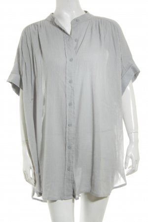 Silence + Noise Bluse graublau Casual-Look
