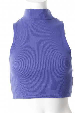Silence + Noise Cropped Top blauviolett Urban-Look