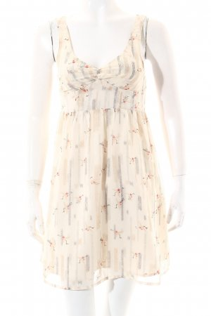 Silence + Noise Kleid creme Animalmuster Casual-Look