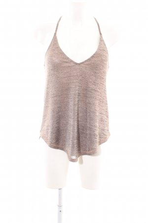 Silence + Noise Spaghetti Strap Top nude-bronze-colored flecked casual look