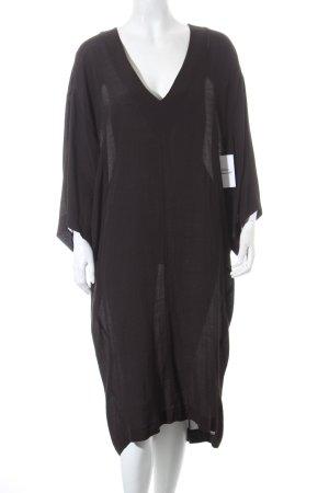 Silence + Noise Tunikakleid schwarz minimalistischer Stil