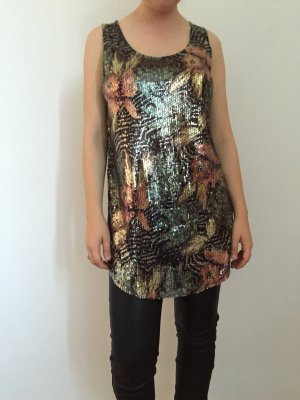 Silence + Noise Urban Outfitters Top Pailetten
