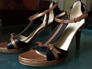 SILVANO CATINI Sandalette 40,5 *neu* Heel-Sandale Designer Manufaktur