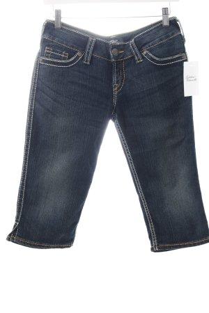 "Silver 3/4 Jeans ""Mc Kenzie Crop"" dunkelblau"