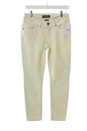 "Silver Jeans a 7/8 ""Suki Skinny"" verde pallido"
