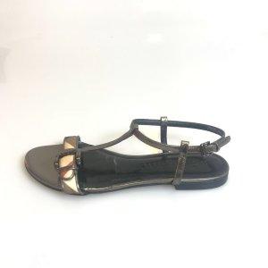 Silver Burberry Sandal