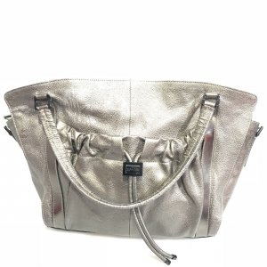 Silver Burberry Shoulder Bag