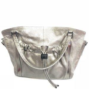 Silver Burberry Shoulder Bag