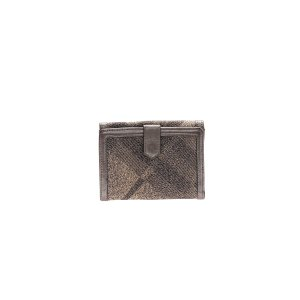 Silver Burberry Wallet