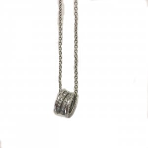 Silver Bvlgari Necklace