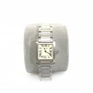 Silver Cartier Watch