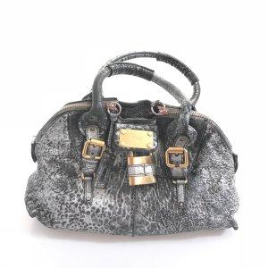 Silver Chloe Shoulder Bag