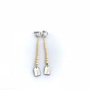 Silver Christian Dior Earring