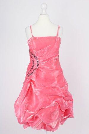 Silver Fashion Ballkleid schimmernd pink Größe S/M