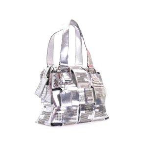 Silver Fendi Shoulder Bag