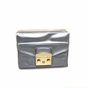 Silver Furla Cross Body Bag