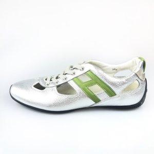 Silver Hogan Sneaker