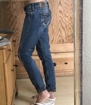 Silver Jeans Vaquero hipster azul oscuro-gris pizarra