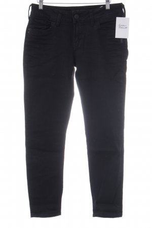 Silver Jeans Five-Pocket-Hose schwarz Casual-Look