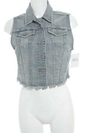 Silver Jeans Smanicato jeans bianco sporco-azzurro aspetto di seconda mano